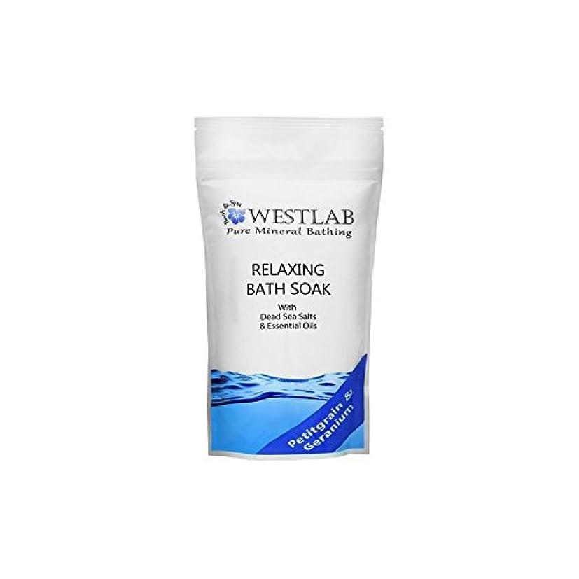 完了見えない我慢する死海の塩浴浸漬(500グラム)をリラックス x4 - Westlab Relax Dead Sea Salt Bath Soak (500g) (Pack of 4) [並行輸入品]