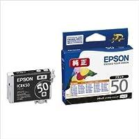 (業務用セット) エプソン EPSON インクジェットカートリッジ ICBK50 ブラック 1個入 【×3セット】 〈簡易梱包