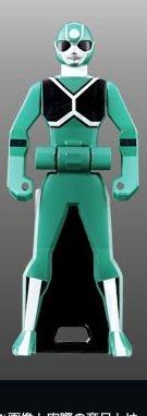 レンジャーキーセット LOST EDITION バラ売り:X-1マスク