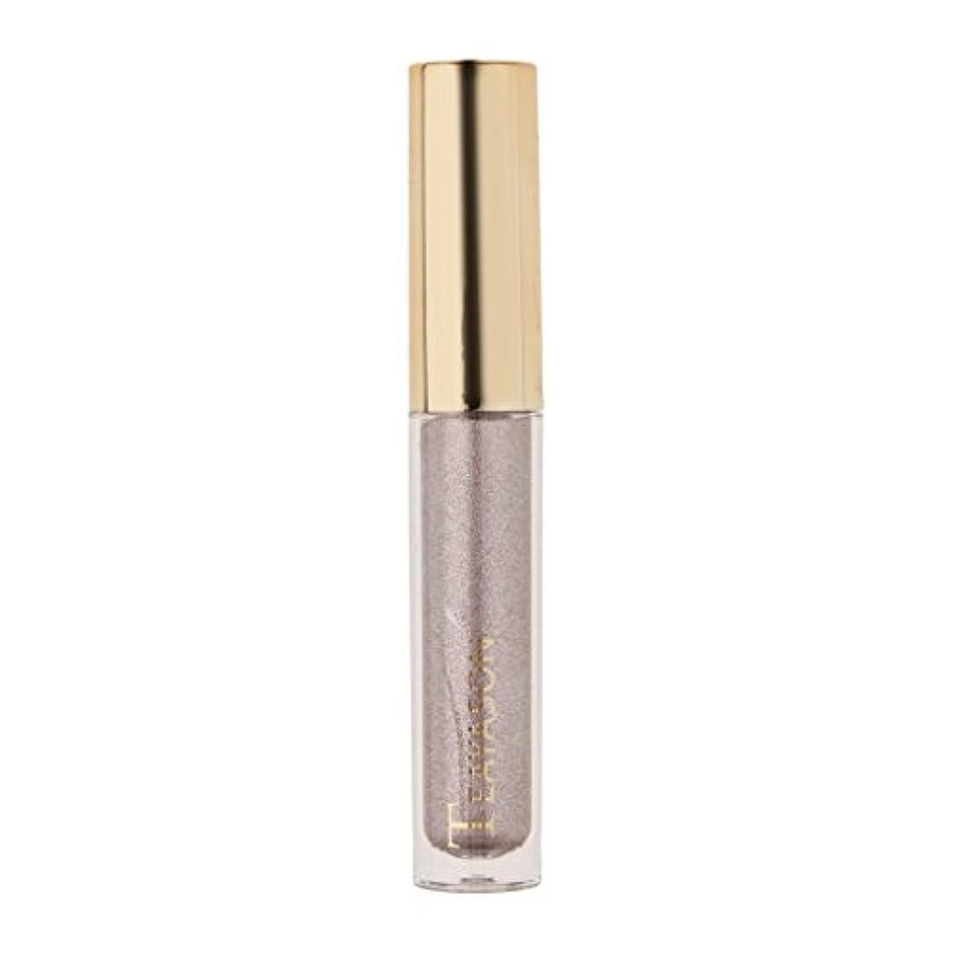 宇宙共役バズ8色液体アイシャドーキラキラシマー化粧品顔料長期持続性 - 6#