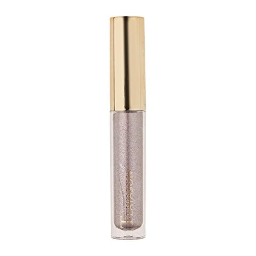 ポップ大破バランスCUTICATE 8色液体アイシャドーキラキラシマー化粧品顔料長期持続性 - 6#