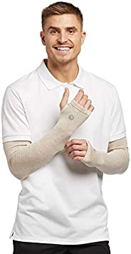 Solbari UPF 50+ Sun Protection Arm Sleeves Sensitive Collection - With Thumbholes - UV Protection, Sun Protect