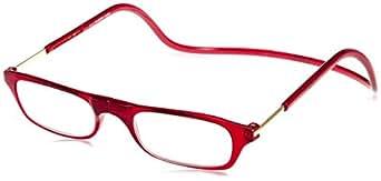 (クリックリーダー) Clic Readers 老眼鏡 レッド +1.00 老眼