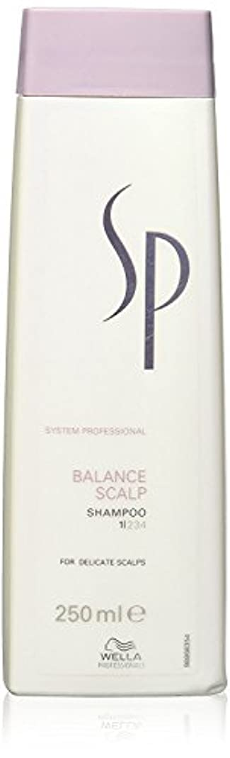 学生居心地の良いお誕生日ウェラ SP バランス スキャルプ シャンプー Wella SP Balance Scalp 250 ml [並行輸入品]