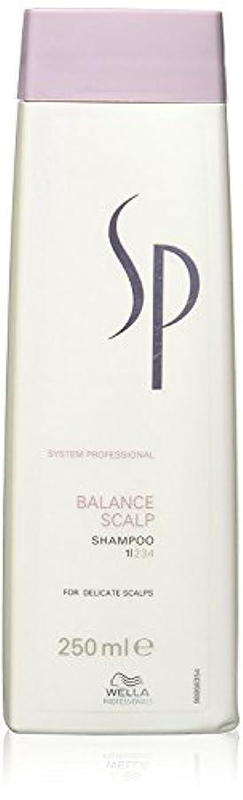 誰もスローガンパワーウェラ SP バランス スキャルプ シャンプー Wella SP Balance Scalp 250 ml [並行輸入品]