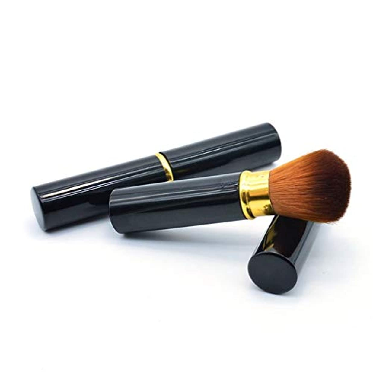 コンパイル高尚な便宜メイクアップブラシファンデーションメイクアップリキッド、クリーム、または完璧なパウダー化粧品 - バフ、点描、コンシーラー - 上質な合成稠密剛毛