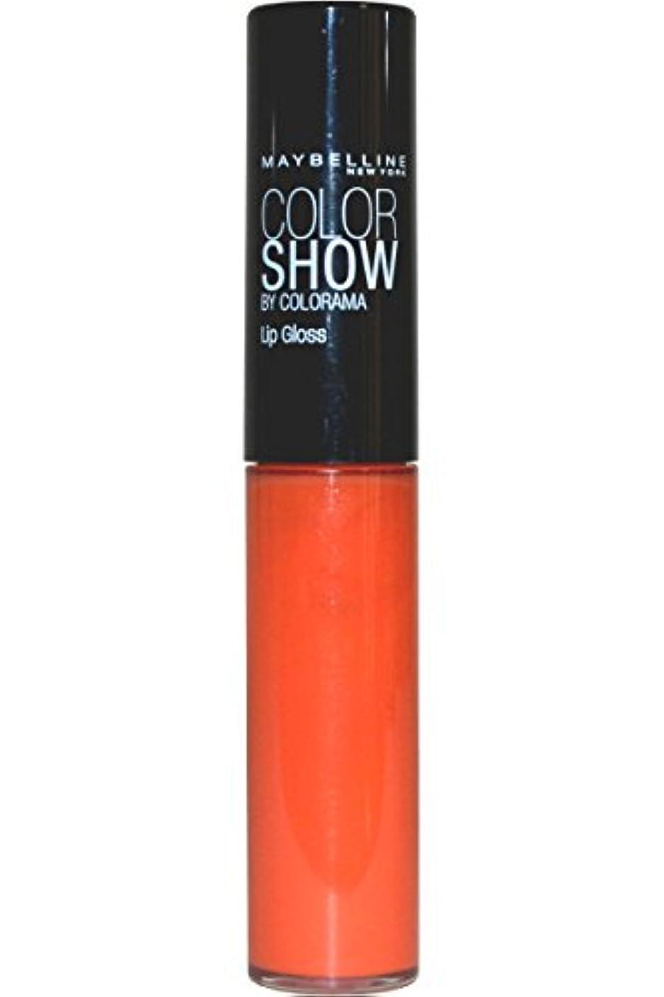気質旅カスタムMaybelline Color Show Lip Gloss Lippenstift Tropic Tangerine 385