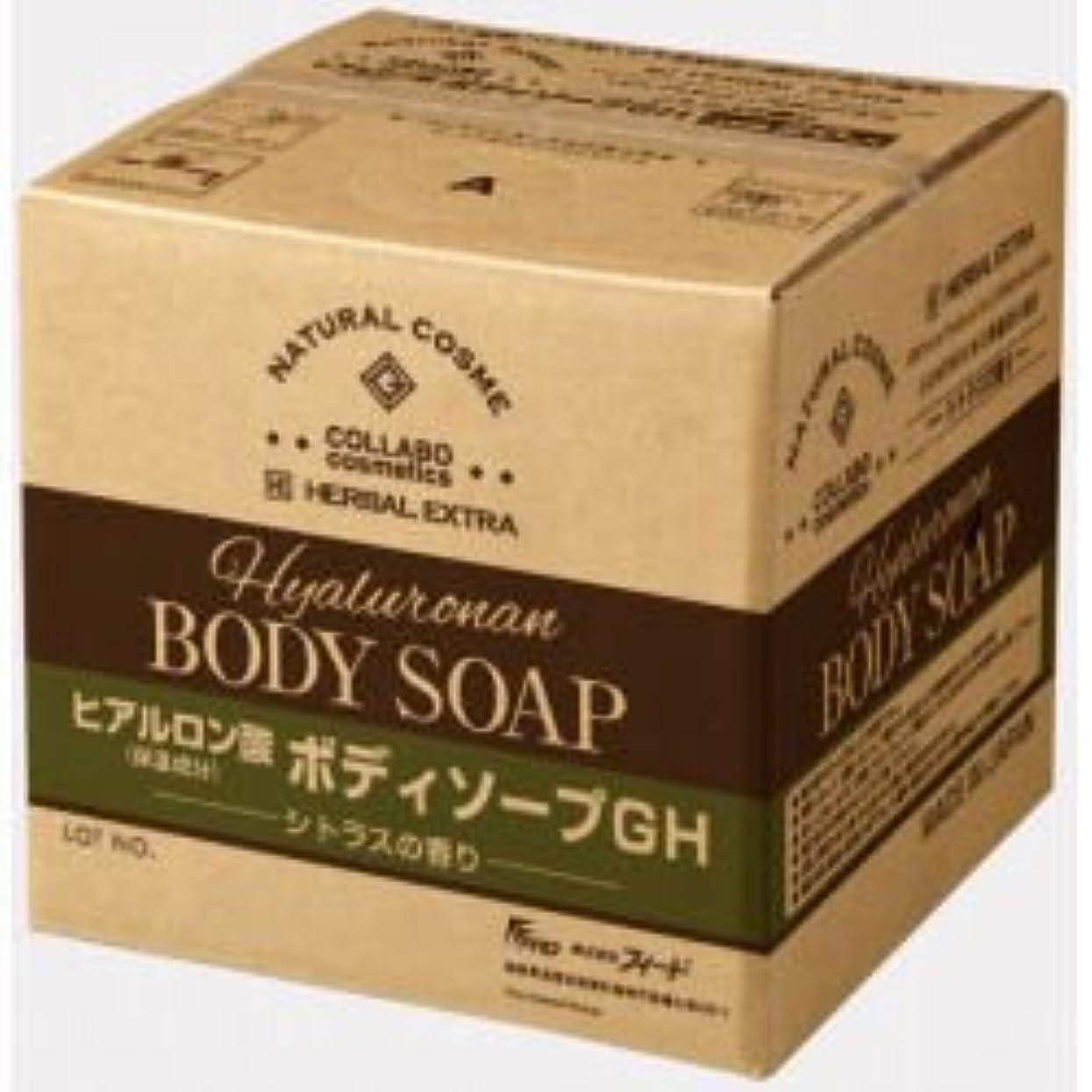 留め金スパークガレージゼミド×ハーバルエクストラ ヒアルロン酸ボディソープGH シトラスの香り 20kg