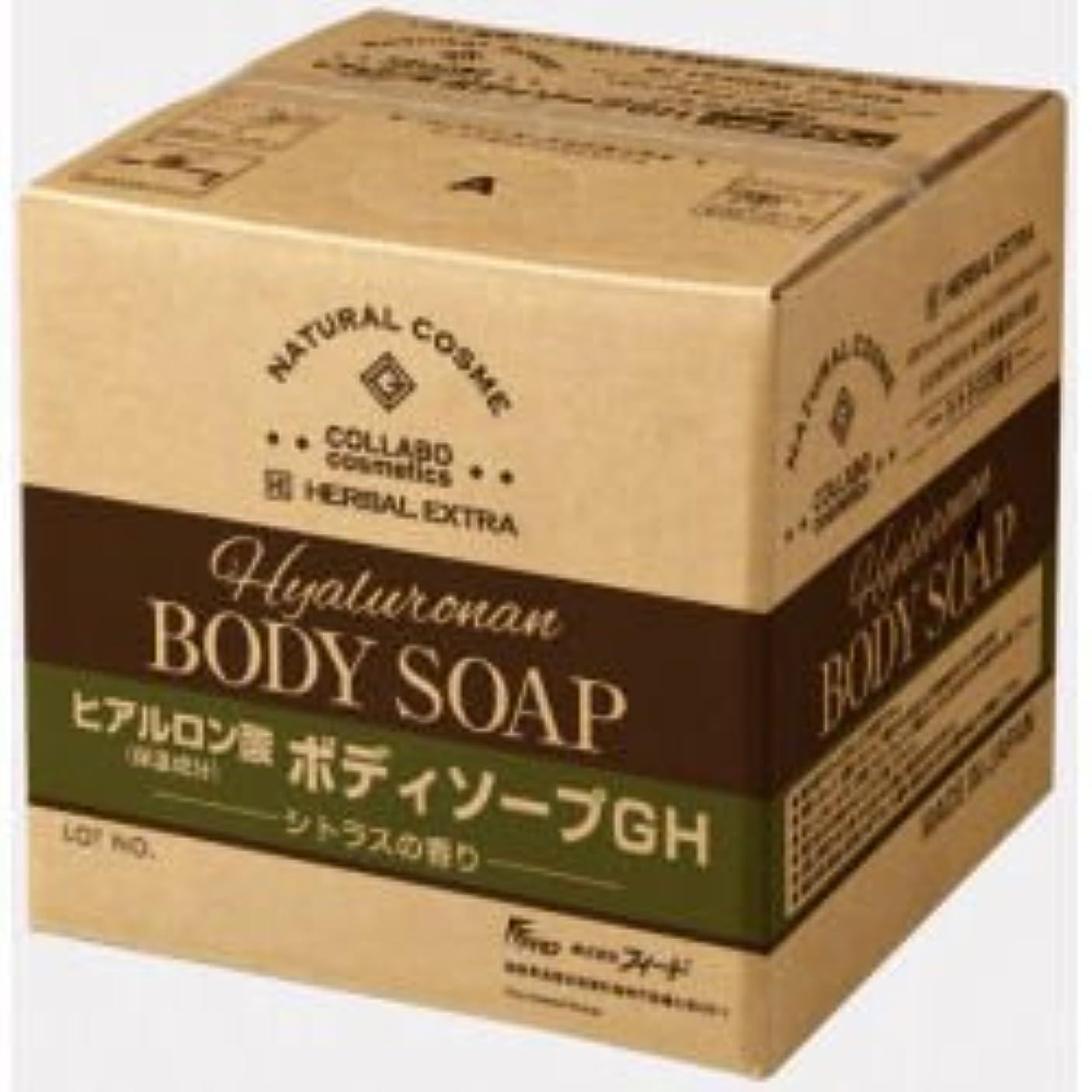 口径拮抗する端末ゼミド×ハーバルエクストラ ヒアルロン酸ボディソープGH シトラスの香り 20kg