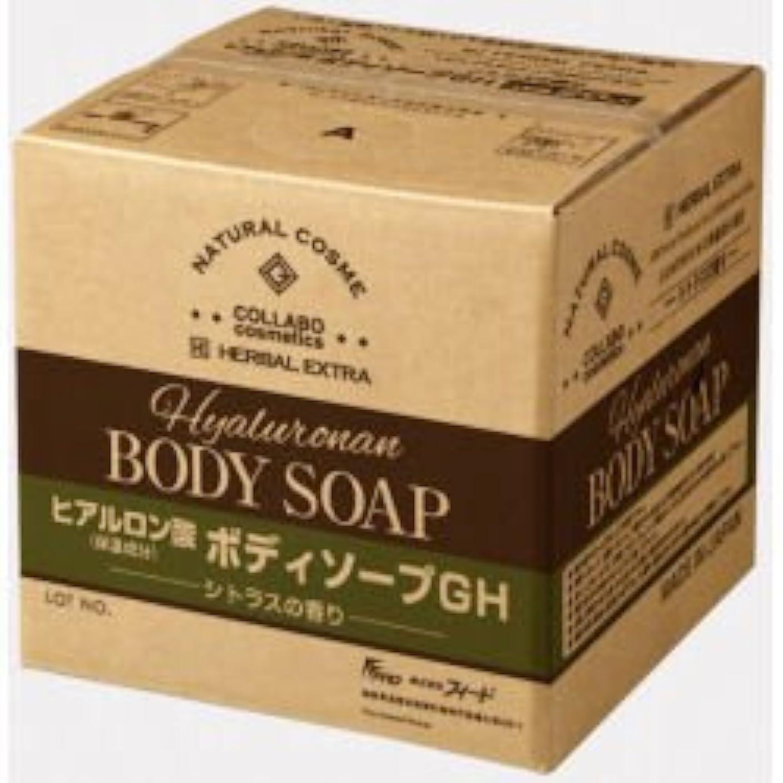 不愉快男らしいスナッチゼミド×ハーバルエクストラ ヒアルロン酸ボディソープGH シトラスの香り 20kg