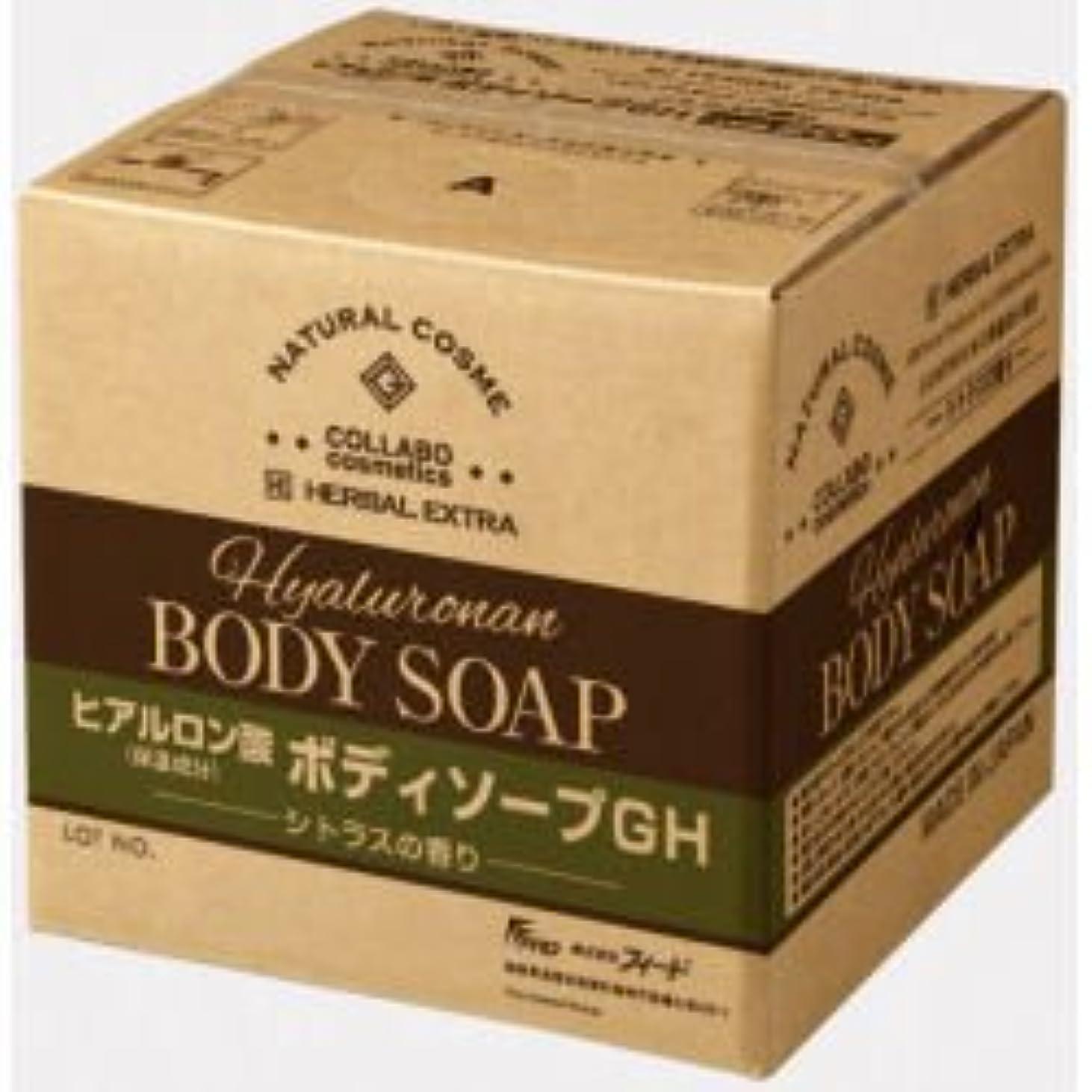 大腿応じる平方ゼミド×ハーバルエクストラ ヒアルロン酸ボディソープGH シトラスの香り 20kg