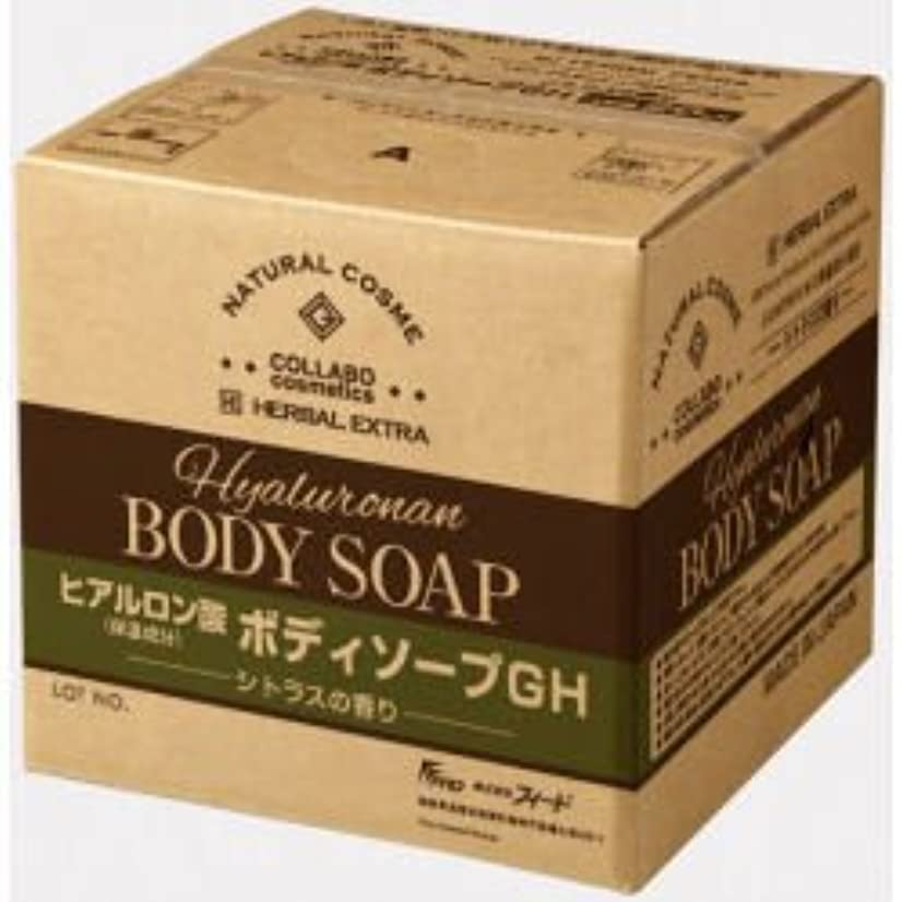 マダム四半期測定可能ゼミド×ハーバルエクストラ ヒアルロン酸ボディソープGH シトラスの香り 20kg