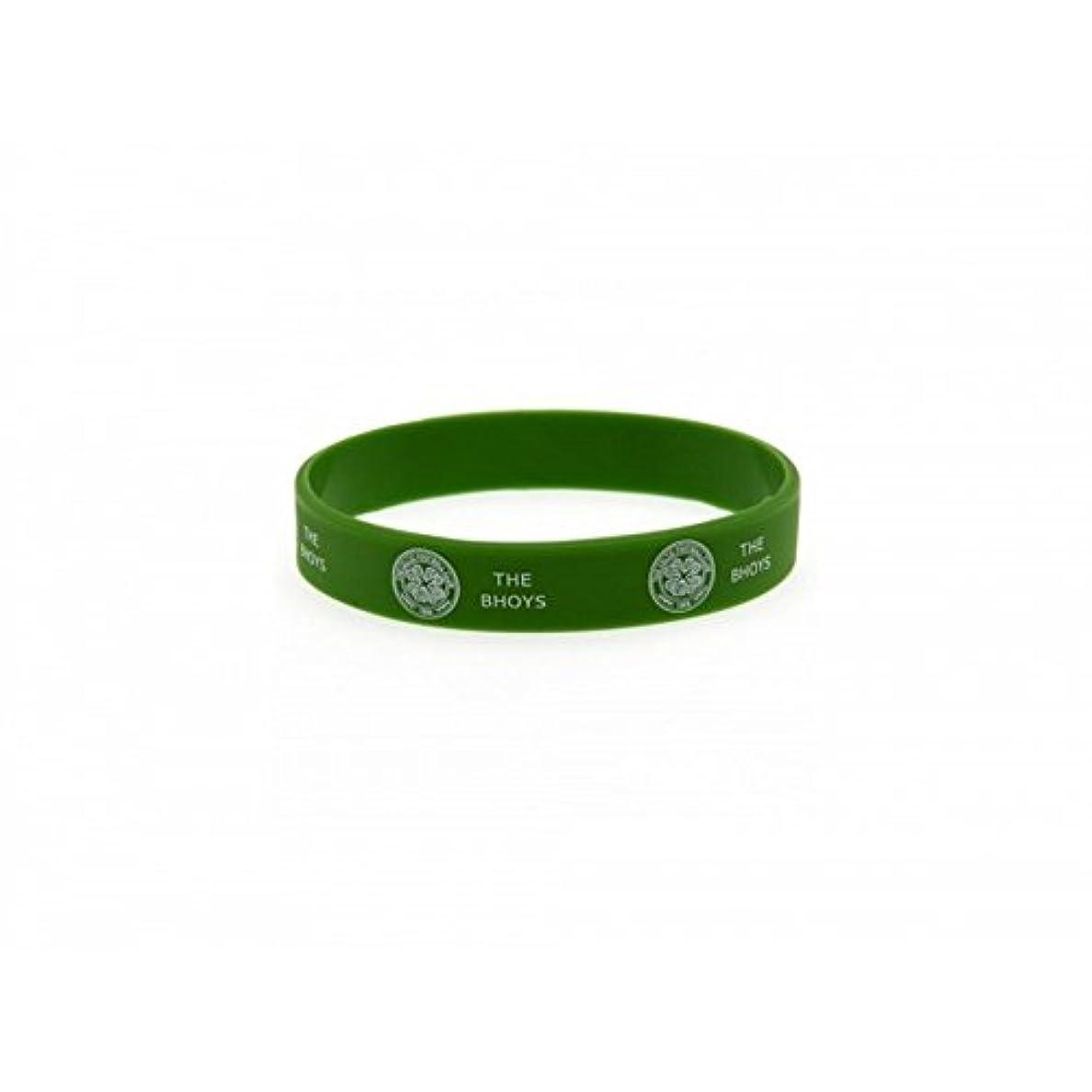 強制的ミサイルスカウトセルティック フットボールクラブ Celtic FC オフィシャル商品 シリコン リストバンド