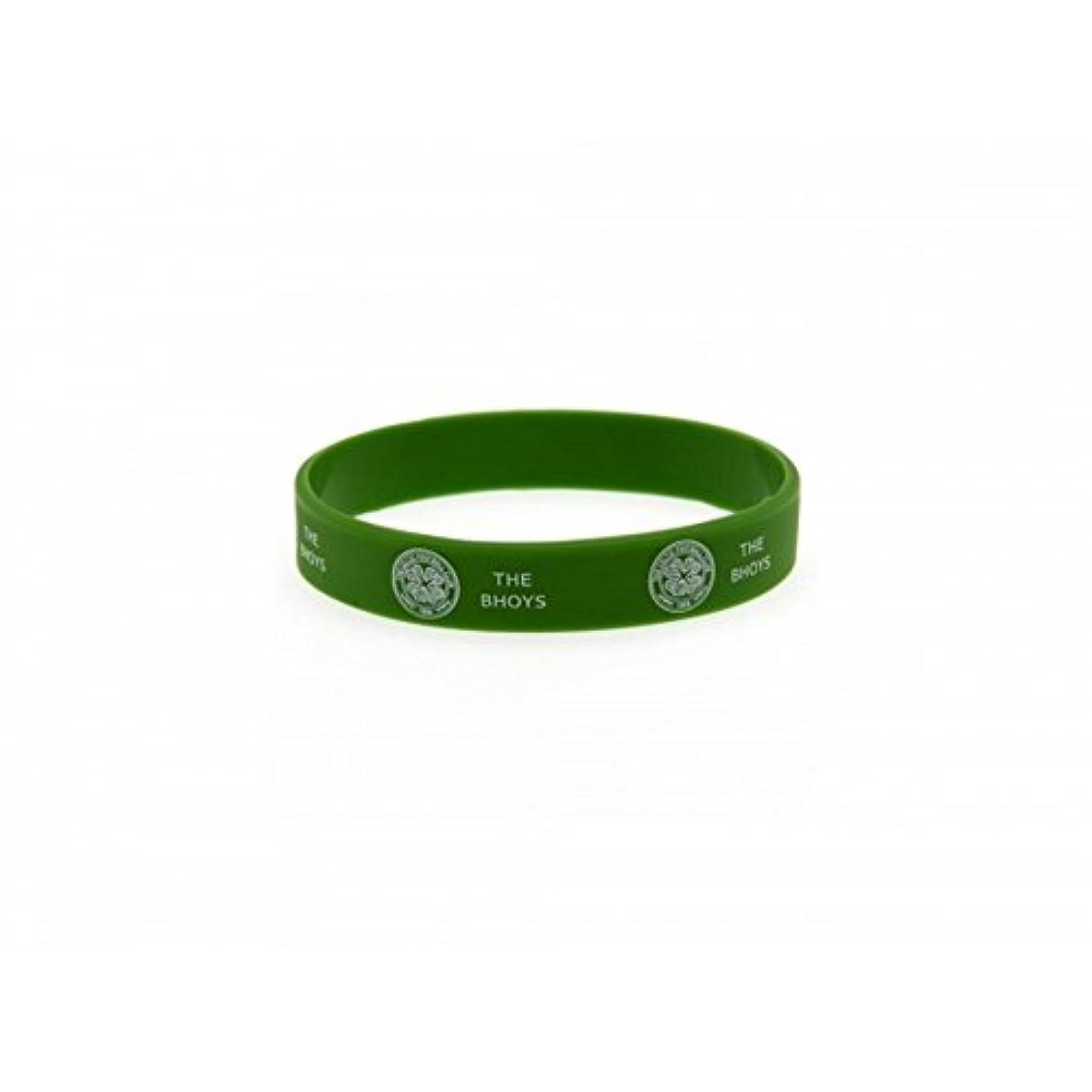 グリース候補者れるセルティック フットボールクラブ Celtic FC オフィシャル商品 シリコン リストバンド