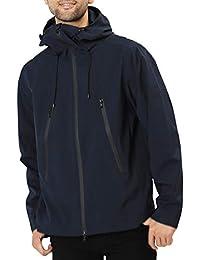 JIGGYS SHOP マウンテンパーカー メンズ アウター ストレッチ素材 撥水加工 マンパ ジャケット 秋服