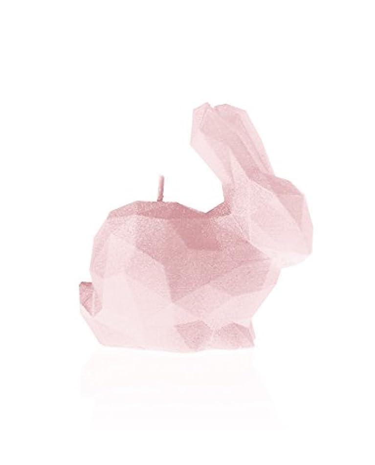 視聴者教育学理容室Candellana Candles 5902650678743 Bunny Candellana- Bunny Candle-Powder Pink,Powder Pink,Small