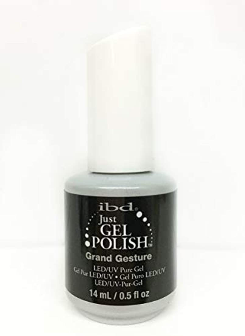 買い物に行く休戦ブーストibd Just Gel Nail Polish - Grand Gesture - 14ml / 0.5oz