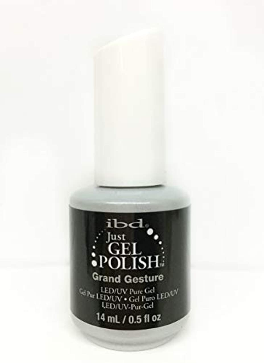 無礼にターゲット関係するibd Just Gel Nail Polish - Grand Gesture - 14ml / 0.5oz