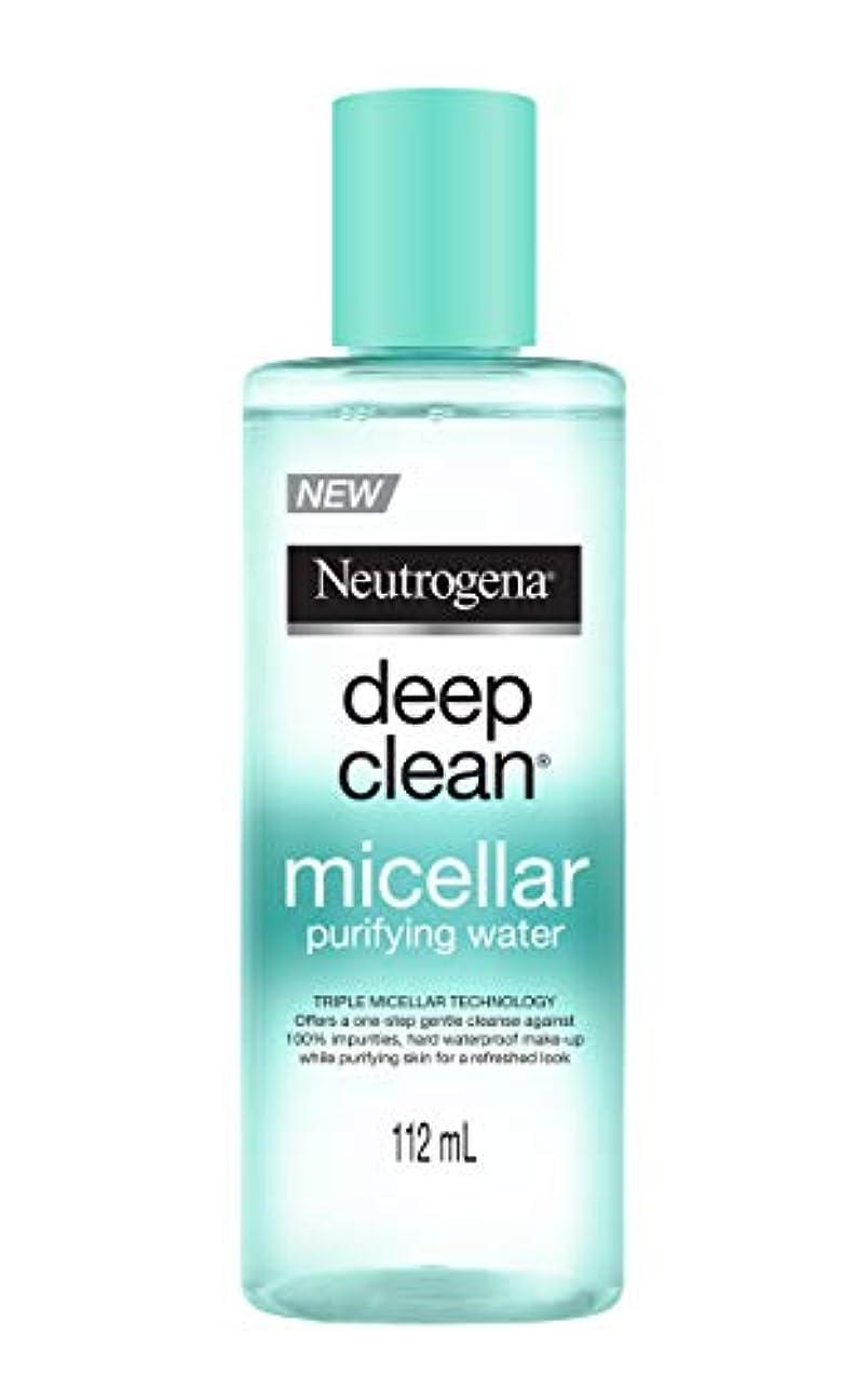 大砲傘考えNeutrogena Deep Clean Micellar Purifying Water, Transparent, 112 ml