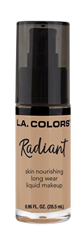 クリップ診断する市民権L.A. COLORS Radiant Liquid Makeup - Fair (並行輸入品)