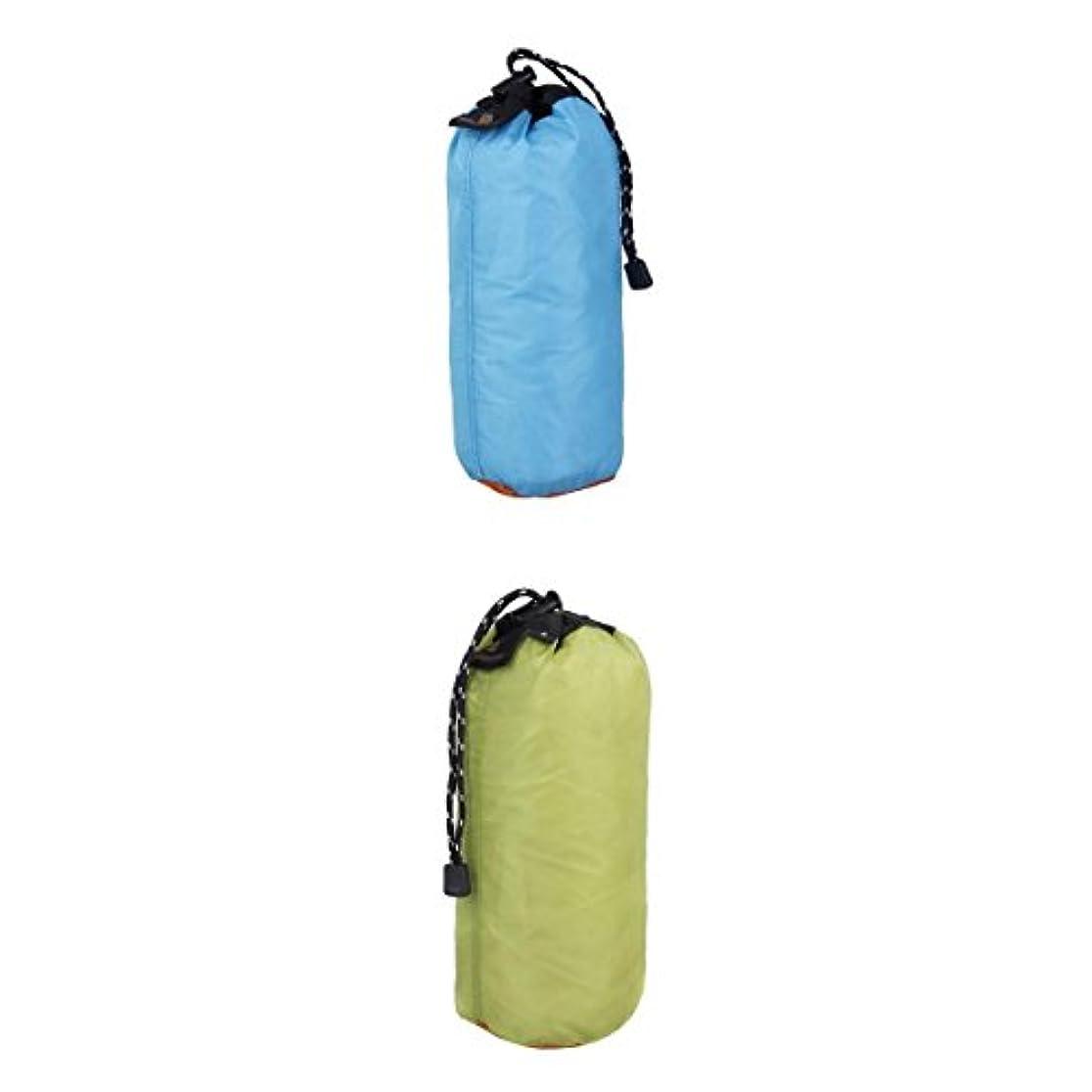 不確実設計図感覚Fenteer 2本 超軽量 巾着収 納袋ポーチ ビーチ 泳ぎキャンプ 旅行 XXLサイズ ポータブル