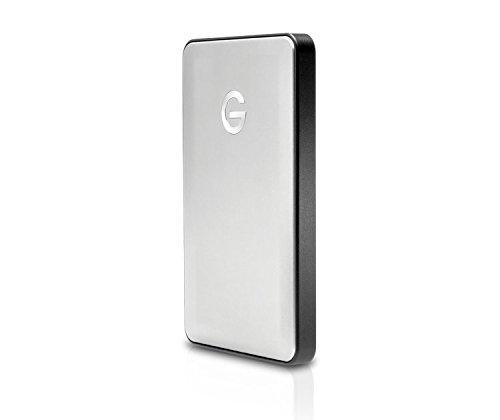 G-Technology (HGST) G-DRIVE mobile USB-C対応 1TB 外付ポータブルハードディスクドライブ 【3年保証】 0G04879AZ