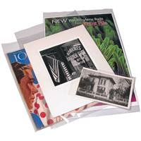 Print File 4 mil Polyethylene Storage Bag with 2 Flap, 8.5x11-100 Bags by Print File