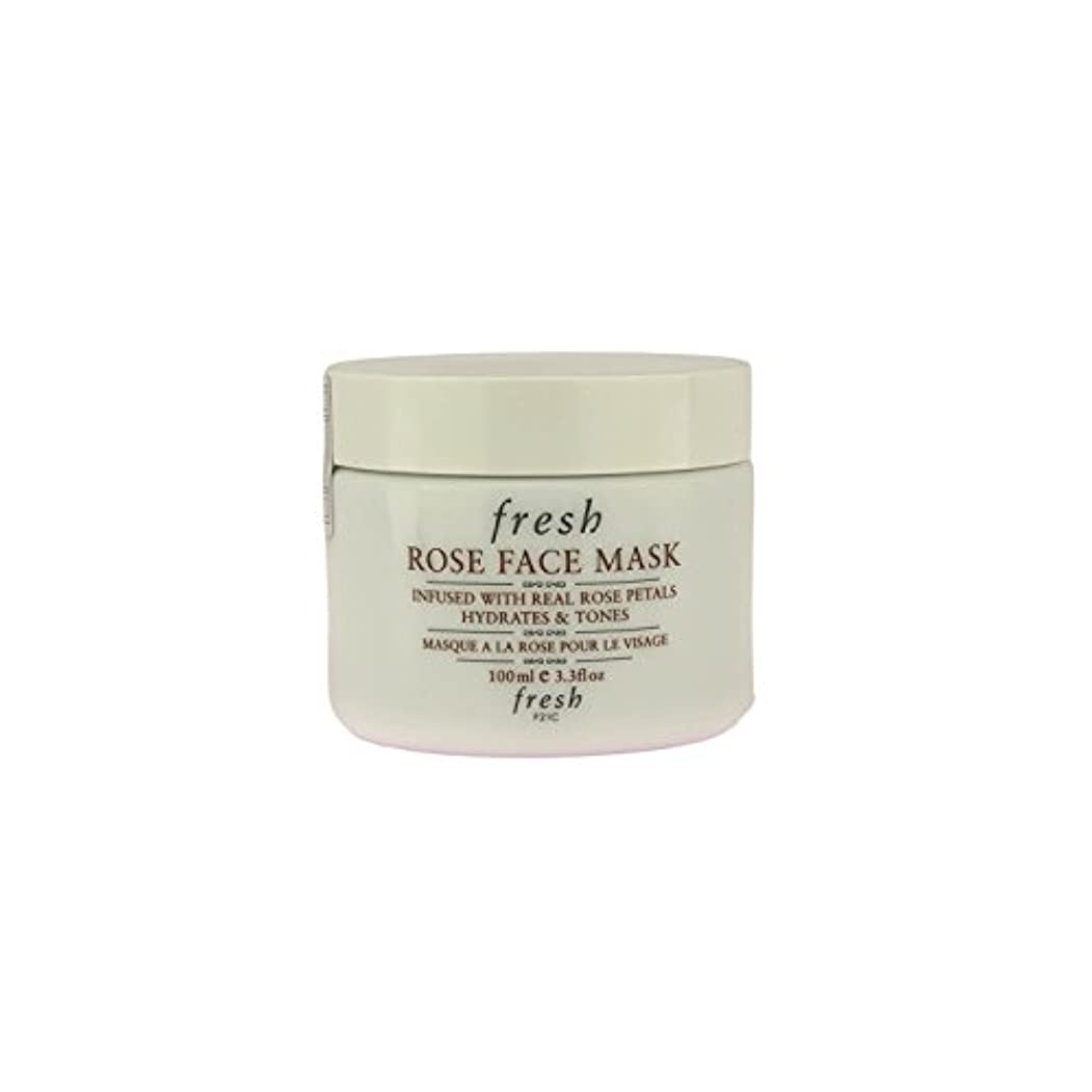 テントパイプ何もない【並行輸入品】Fresh ROSE FACE MASK (フレッシュ ローズフェイスマスク) 3.4 oz (100g) by Fresh for Women