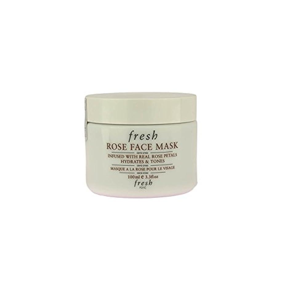 汗しかし足音【並行輸入品】Fresh ROSE FACE MASK (フレッシュ ローズフェイスマスク) 3.4 oz (100g) by Fresh for Women