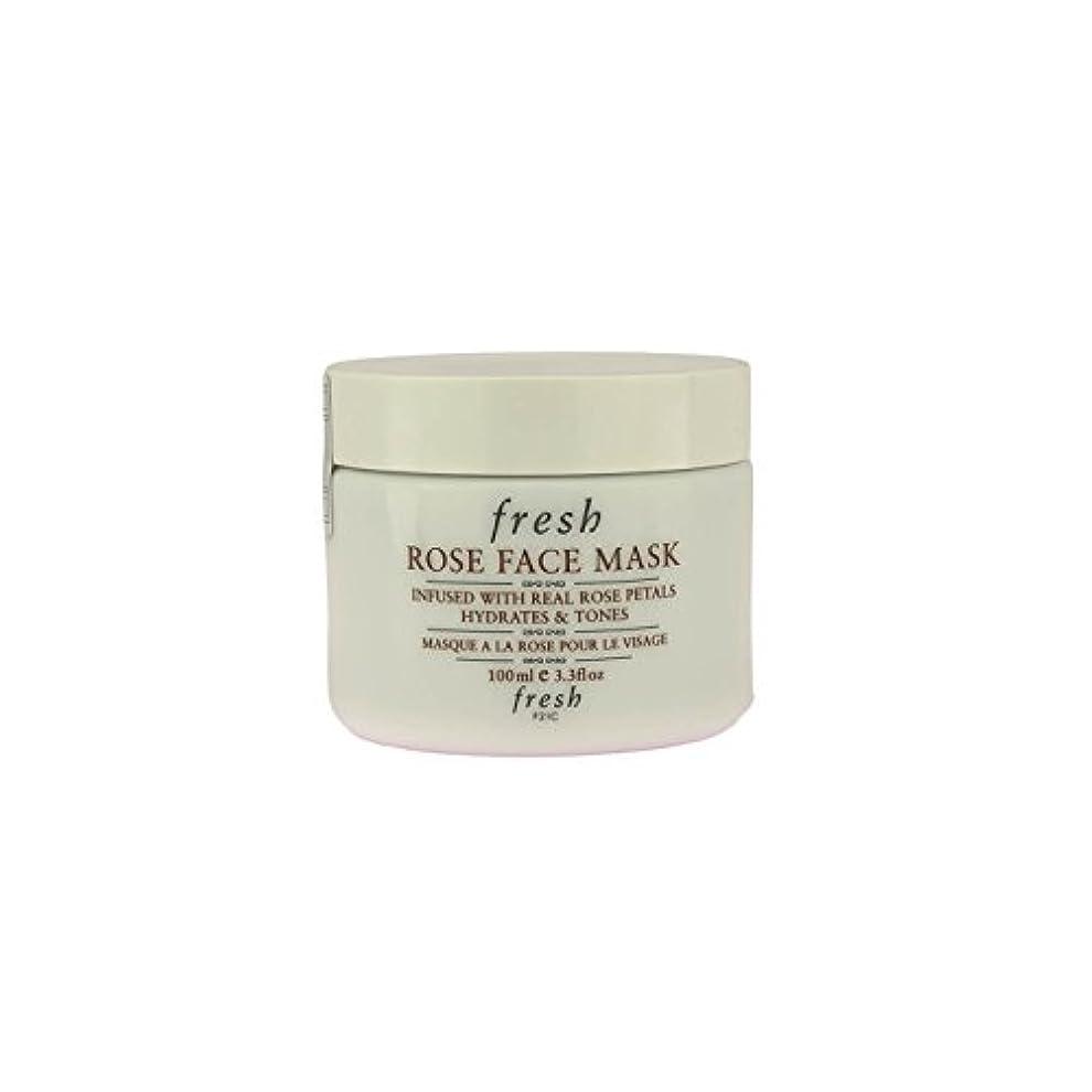 そばに出会い噴出する【並行輸入品】Fresh ROSE FACE MASK (フレッシュ ローズフェイスマスク) 3.4 oz (100g) by Fresh for Women