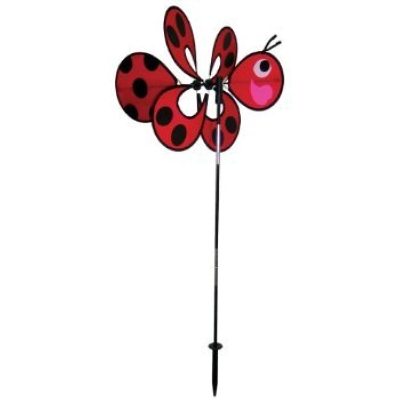 In the Breeze Momma Ladybug Windee Wheelz Garden Spinner おもちゃ [並行輸入品]