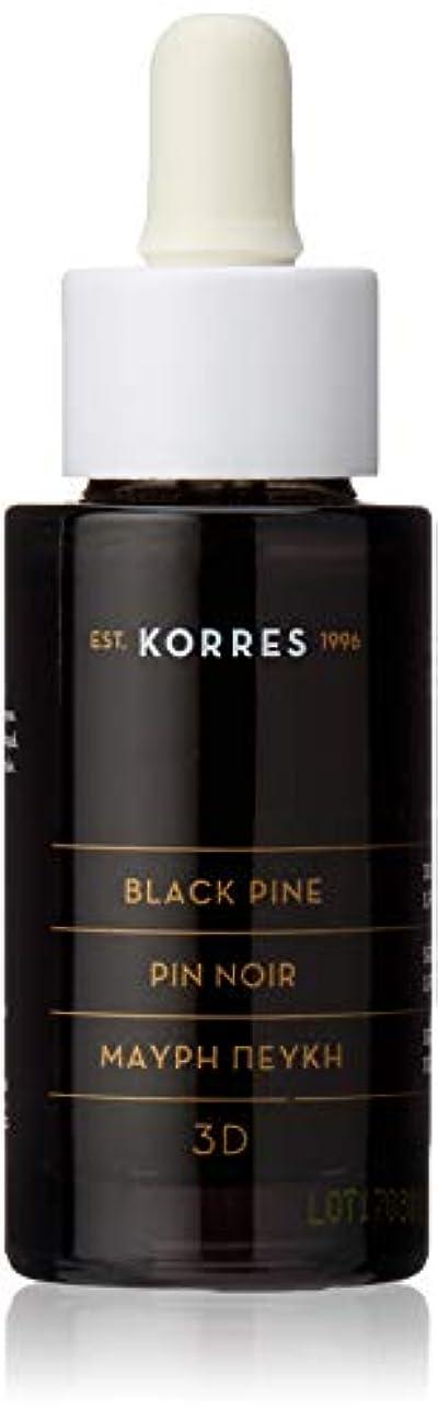 従事した暴君マングルコレス(KORRES) コレスナチュラルプロダクト ブラックパイン ファーミングフェイスセラム 30mL 美容液