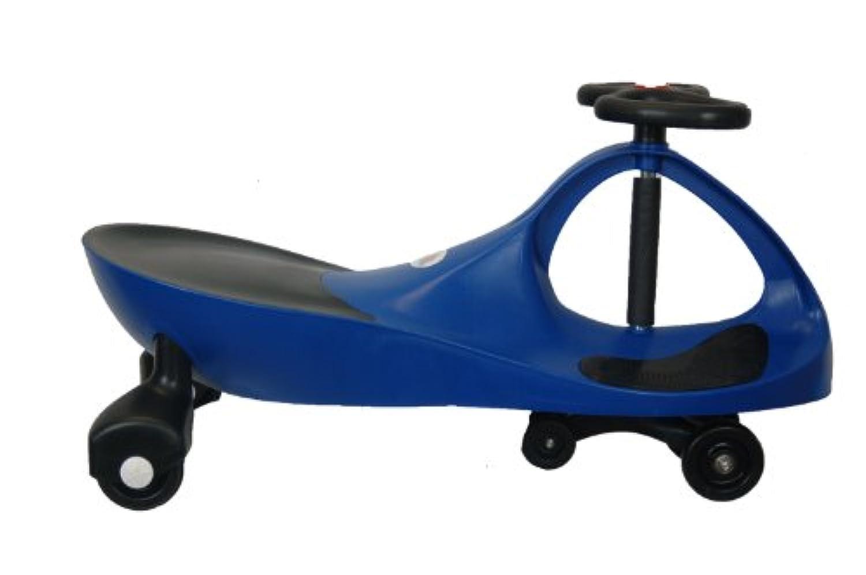 True Blue RollingコースターにウィグルWiggle Race Carプレミアムスクーター