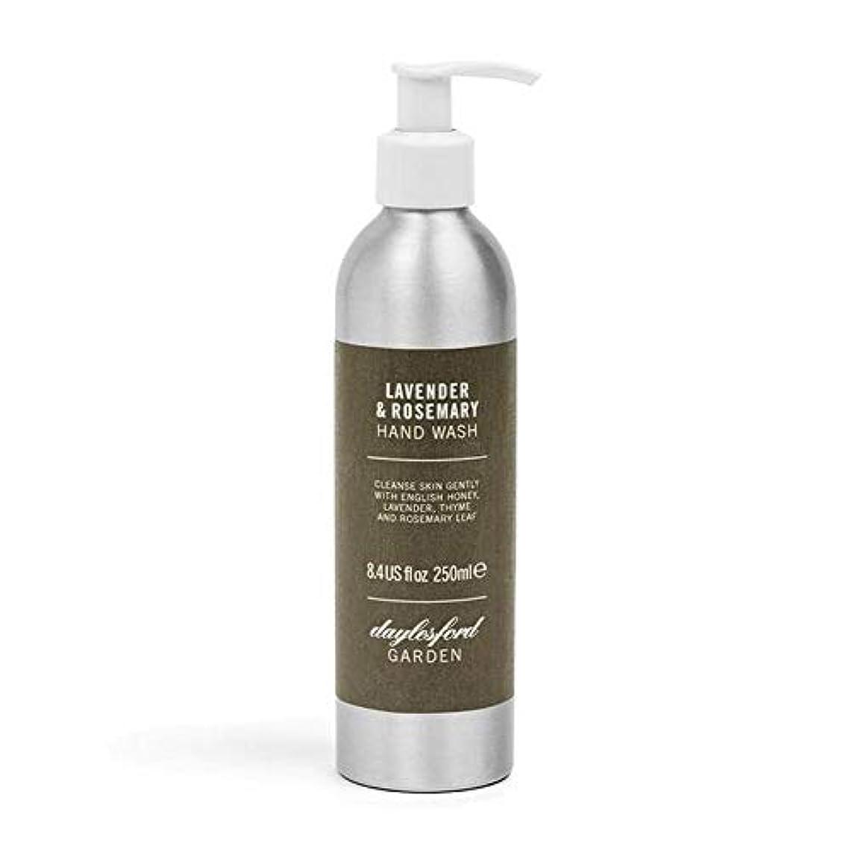 年金軍みがきます[Daylesford ] デイルスフォードの天然ローズマリー&ラベンダーのハンドウォッシュ250ミリリットル - Daylesford Natural Rosemary & Lavender Hand Wash 250ml...