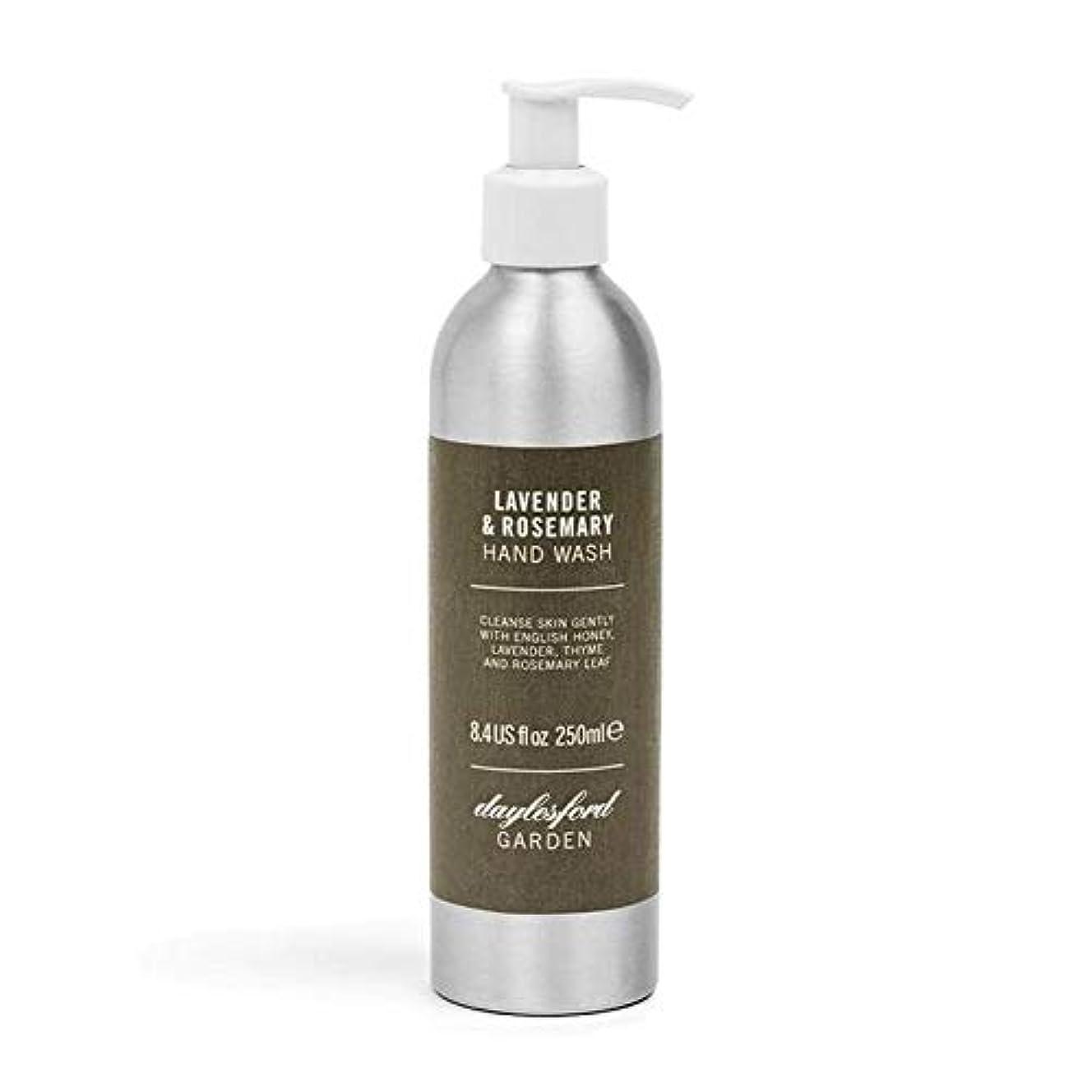 起きる過半数気性[Daylesford ] デイルスフォードの天然ローズマリー&ラベンダーのハンドウォッシュ250ミリリットル - Daylesford Natural Rosemary & Lavender Hand Wash 250ml...
