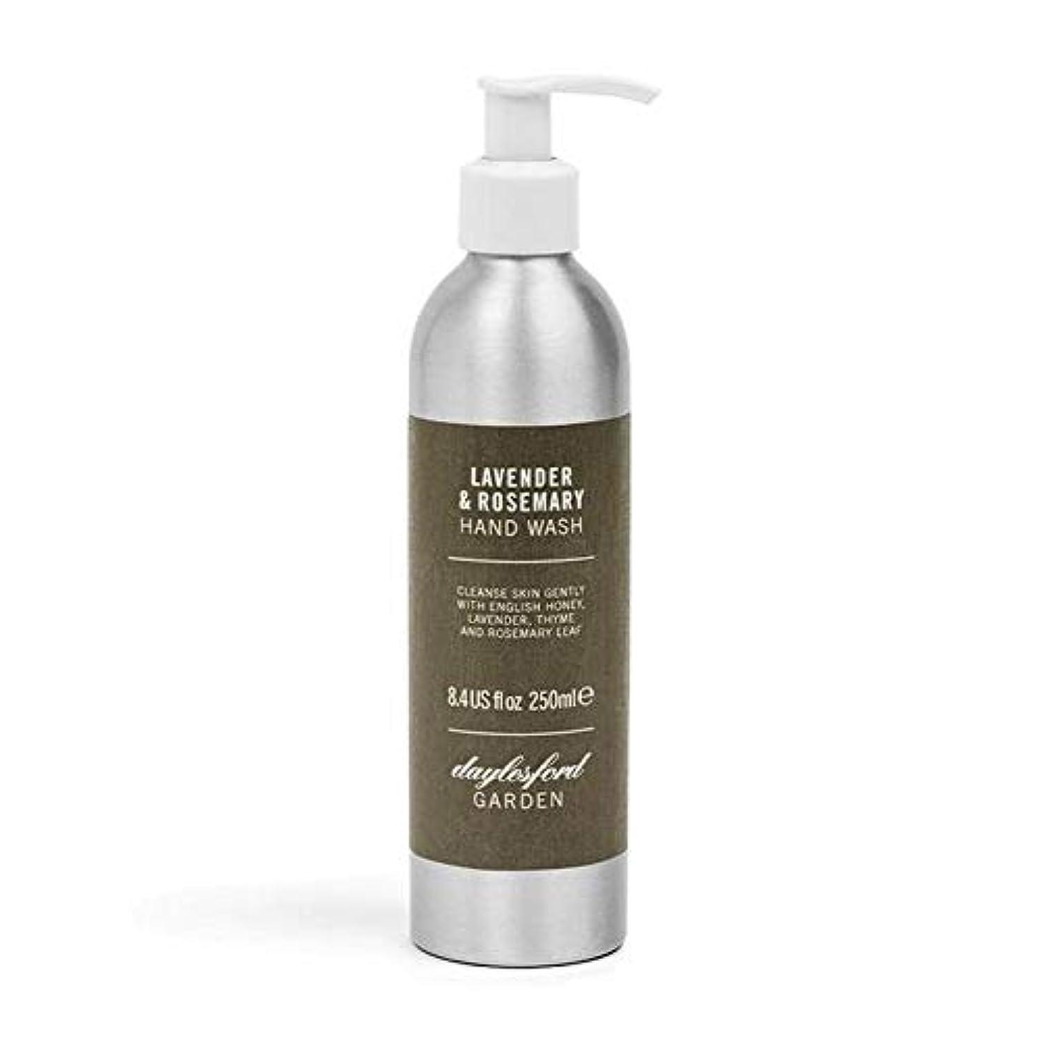 複雑でない靄乳白[Daylesford ] デイルスフォードの天然ローズマリー&ラベンダーのハンドウォッシュ250ミリリットル - Daylesford Natural Rosemary & Lavender Hand Wash 250ml...