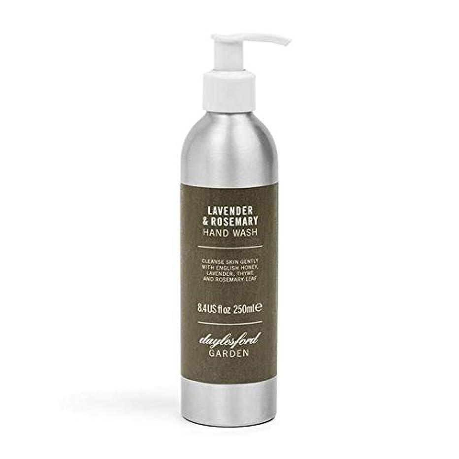 安全でない移植通知[Daylesford ] デイルスフォードの天然ローズマリー&ラベンダーのハンドウォッシュ250ミリリットル - Daylesford Natural Rosemary & Lavender Hand Wash 250ml...