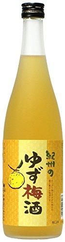 和歌山 中野BC 紀州のゆず梅酒 720ml