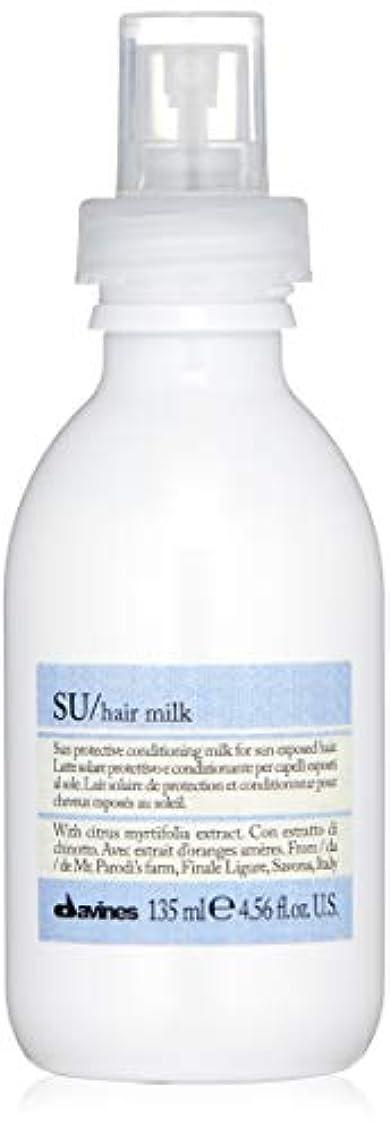 の面では混乱させるインタフェース髪のミルクミルクソーラーprottettivo 135ミリリットル新しいパック - エディション2018年のDavines