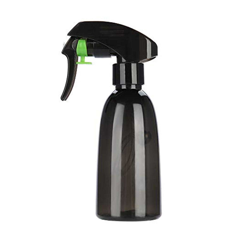 一口分解する白い2色 ポータブル 詰め替え 可能 PET理髪 スプレー ボトル 水噴霧器 サロン 理容ツール(01)