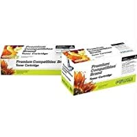 Premium Compatibles Inc. TN210YPC Replacement Ink and Toner Cartridge for Brother Printers, Yellow by Premium