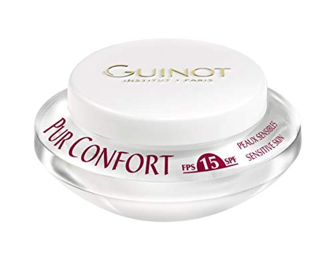 オンス反論一族ギノー Creme Pur Confort Comfort Face Cream SPF 15 50ml/1.6oz並行輸入品