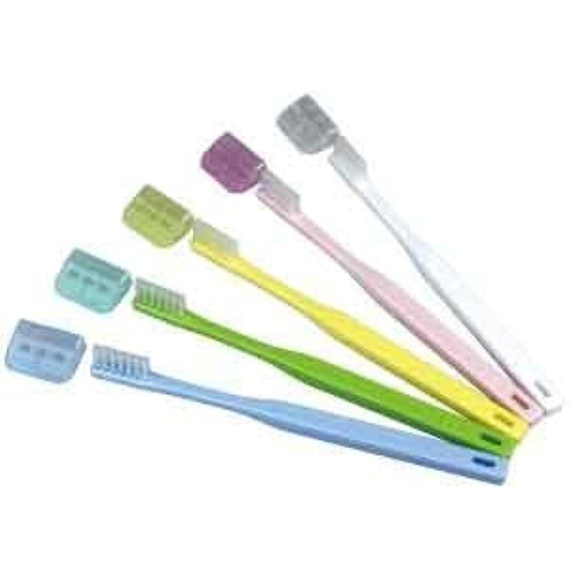 切手拡大する薄暗いV-7 歯ブラシ ふつう コンパクトヘッド/5本入り