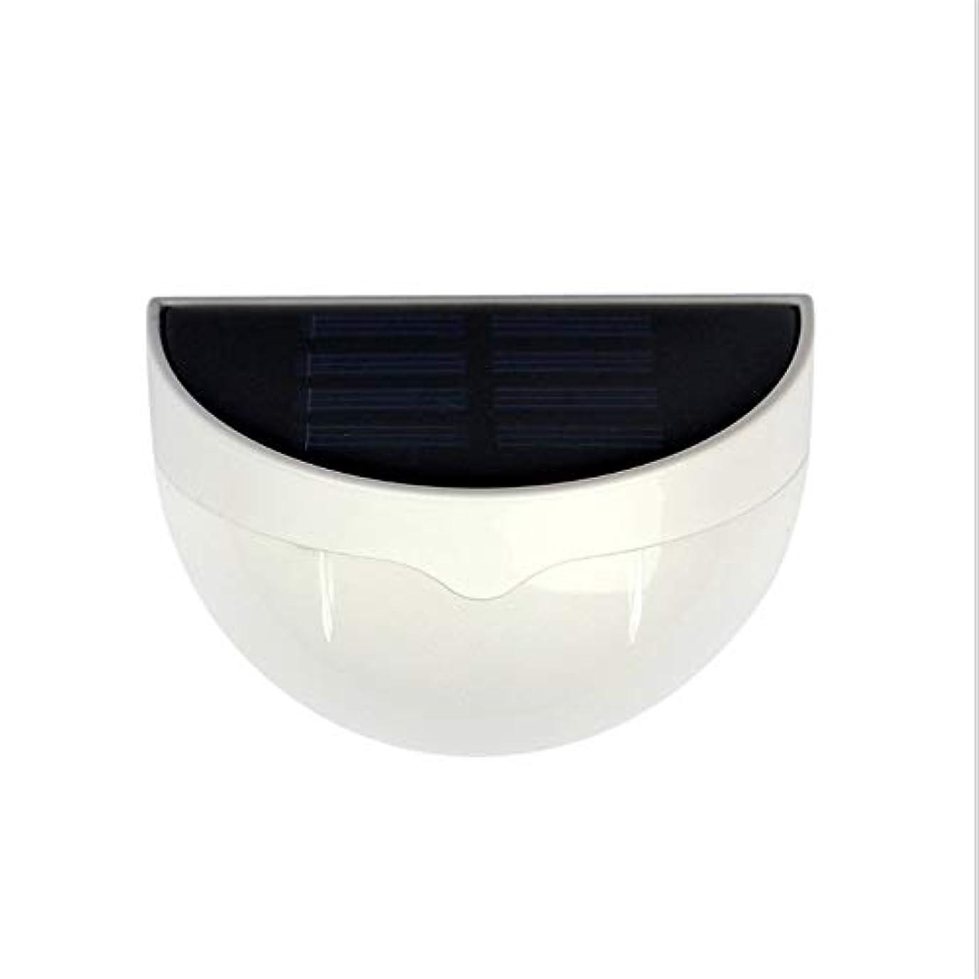 相関する熟読サイレントFXJDD 4個のパックLED屋外ソーラーライトワイヤレスIP55防水ライトウォールランプパティオデッキヤードガーデンパスウェイの景色歩道ドライブウェイライト白い色 FXJDD