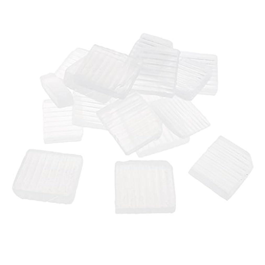 クリップ蝶創造しつけSharplace 透明 石鹸ベース DIY 手作り 石鹸 約1 KG
