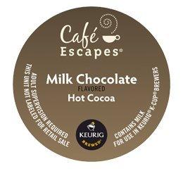 KEURIG Kカップ  Cafe Escapes*ミルクチョコレート ホットココア(24個)【並行輸入品】 KEURIG