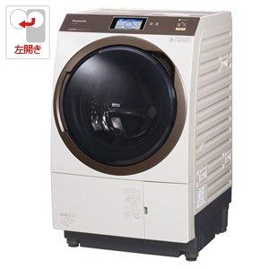 パナソニック 11.0kg ドラム式洗濯乾燥機【左開き】ノーブ...