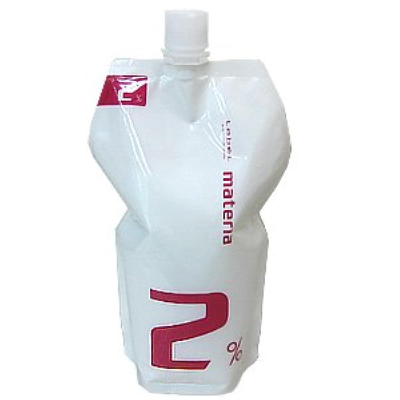 くまアトム支援するルベル マテリア オキシ 1000ml (マテリアシリーズ 共通ヘアカラー2剤) 2%