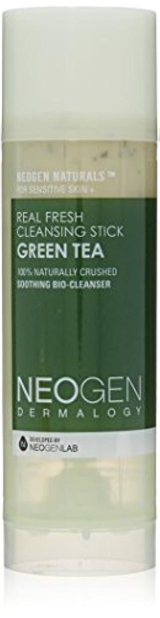 評価する虫を数える逃げるNeogen Dermalogy Green Tea Real Fresh Cleansing Stick 80g