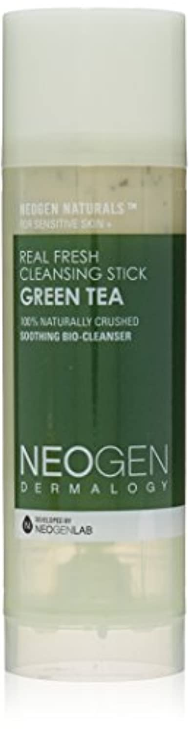 路面電車つぼみ手段Neogen Dermalogy Green Tea Real Fresh Cleansing Stick 80g